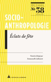 Couverture de l'ouvrage : Socio_anthropo_38